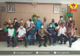 KONI Yogyakarta Sambung Rasa di Kemantren Jetis