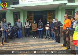 KONI Kota Yogyakarta Jalin Kekompakan Lewat 'Touring'