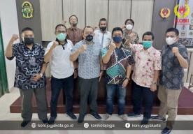 Askot PSSI dan KONI Kota Yogyakarta Terus Bersinergi