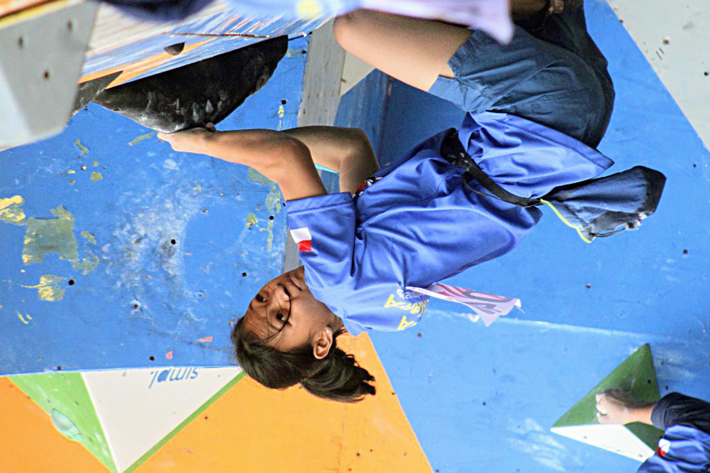 Lintang Tampil di IFSC Climbing World Cup