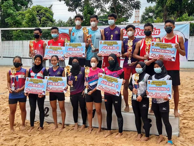 Voli Pasir Yogyakarta Tunjukkan Dominasi di Kejurda Remaja