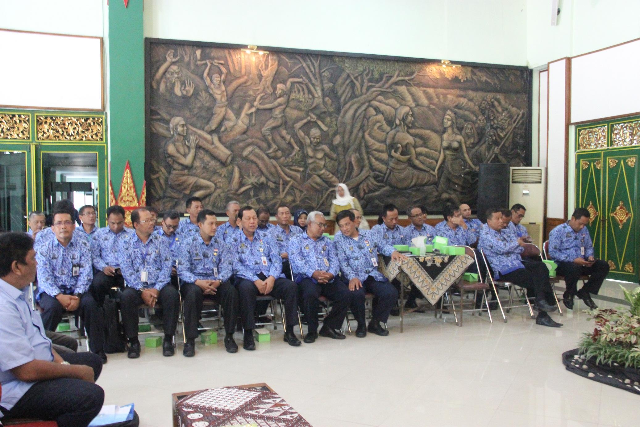 Rapat Kerja KONI Kota Yogyakarta Tahun 2018
